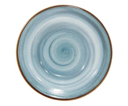 Prato Fundo em Porcelana Artisan - Azul | WestwingNow