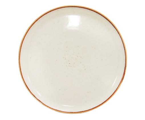 Prato Raso em Porcelana Chrisy - Blanc, Branco | WestwingNow