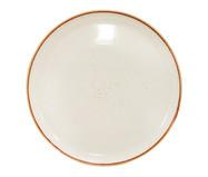 Prato Raso em Porcelana Chrisy - Blanc | WestwingNow