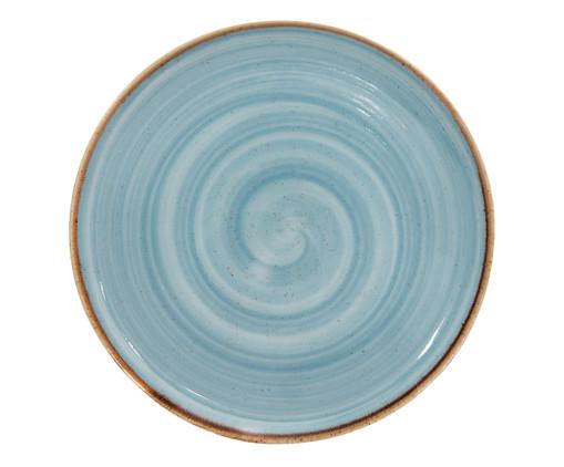 Prato Raso em Porcelana Artisan - Azul, Azul | WestwingNow