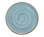 Prato Raso em Porcelana Artisan - Azul | WestwingNow