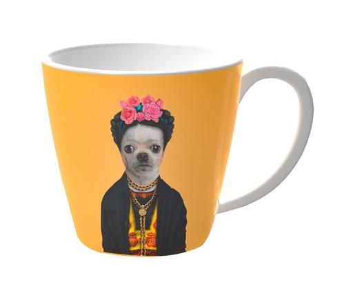 Caneca Dog Shine - Amarelo, Amarelo | WestwingNow