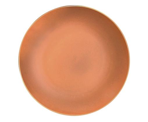 Prato para Sobremesa em Cerâmica Nicolazzi - Terracota, Terracota | WestwingNow