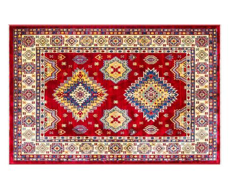 Tapete Turco Kasakh Mira - Vermelho | WestwingNow