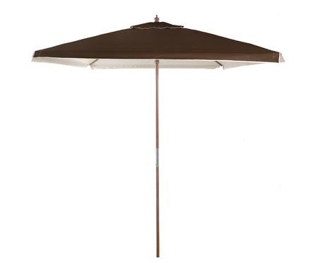 Ombrelone Quadrado Arpoador - Marrom | WestwingNow