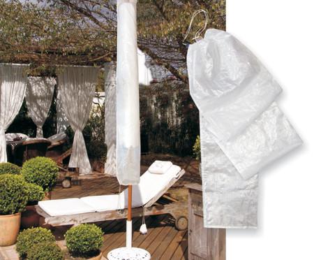 Capa para Ombrelone Jupira - Branca | WestwingNow