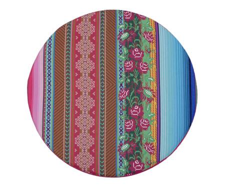 Pufe Pan Handmade - Colorido | WestwingNow
