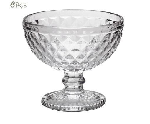 Jogo de Taças para Sobremesa em Cristal Kopani, Transparente | WestwingNow