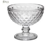 Jogo de Taças para Sobremesa em Cristal Kopani | WestwingNow