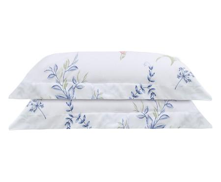 Jogo de Fronha para Travesseiro Kings Le Jardin Blanc - 300 Fios | WestwingNow