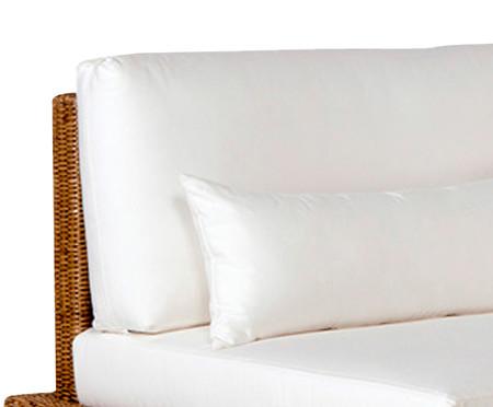 Sofá Fibra Sintética Irapuã - Branco | WestwingNow