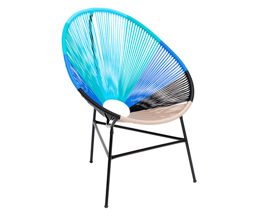 Cadeira Acapulco Caribe, Multicolorido | WestwingNow