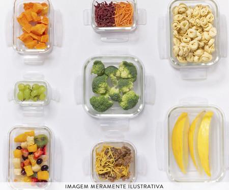 Pote Hermético de Vidro Marina Transparente - 570ml | WestwingNow