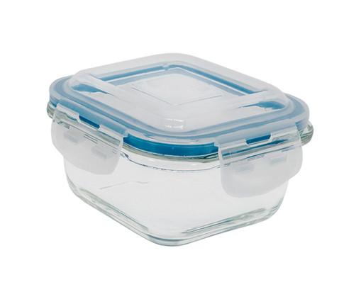 Pote Organizador Hermético de Vidro Marina Transparente - 520ml, Transparente | WestwingNow