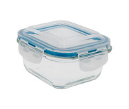 Pote Organizador Hermético de Vidro Marina Transparente - 520ml | WestwingNow