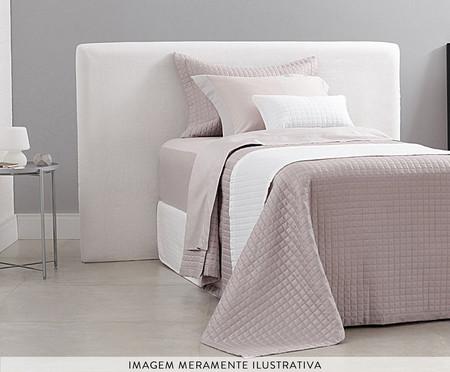 Jogo de Lençol Acetinado Bud Vision New Colors Rosa - 300 Fios | WestwingNow