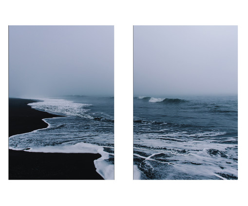 Jogo de Placas de Madeira Estampadas Nícia, Colorido | WestwingNow