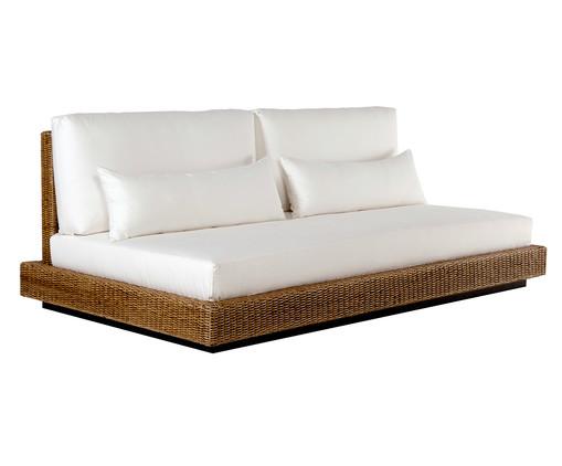Sofá Irapuã - Fibra Natural, Branco | WestwingNow