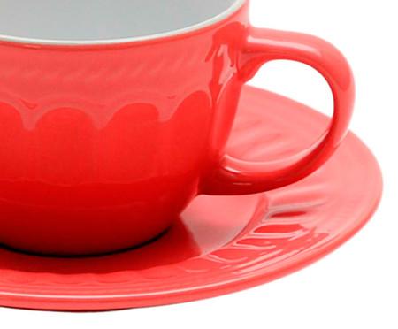 Jogo de Xícaras para Chá com Pires em Porcelana July Colors 06 Pessoas - Multicores | WestwingNow