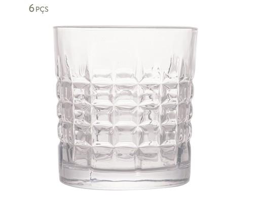 Jogo de Copos para Whisky de Vidro Katari, Transparente   WestwingNow