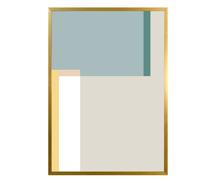 Quadro Gold Easy Chic Josephine | WestwingNow