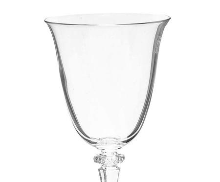 Jogo de Taças em Cristal Ecológico para Vinho Fabbri - Branco | WestwingNow