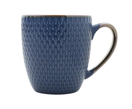 Caneca em Porcelana Steffens - Azul | WestwingNow