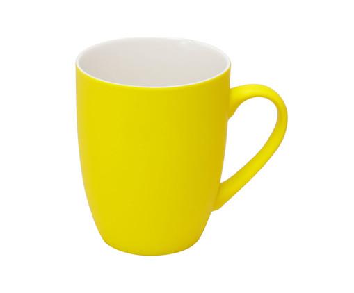 Caneca em Porcelana Luani Soul - Amarela, Amarelo | WestwingNow