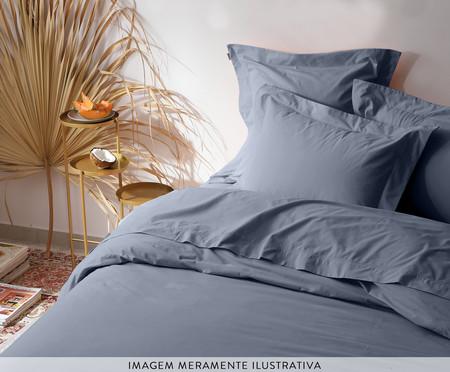 Capa de Almofada Matt Ret Denim - 200 Fios | WestwingNow