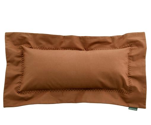 Capa de Almofada Matt Ret Caramelo - 200 Fios, Caramelo | WestwingNow