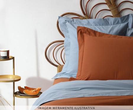 Capa de Almofada Matt Ret Caramelo - 200 Fios | WestwingNow