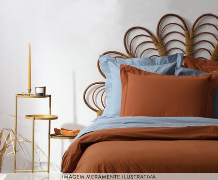 Capa de Almofada Matt Quad Denim - 200 Fios | WestwingNow