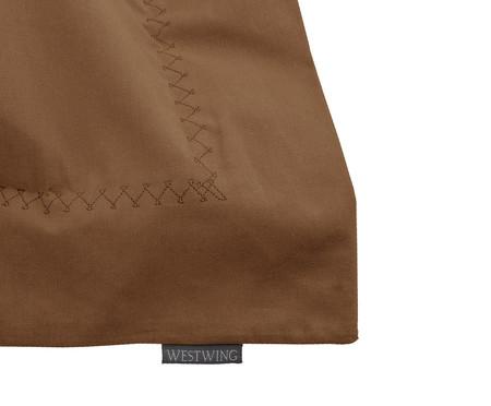 Capa de Almofada Matt Quad Caramelo - 200 Fios | WestwingNow