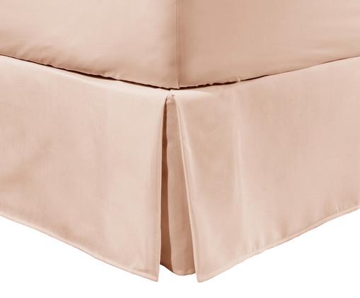 Saia para Cama Box Matt Blush - 200 Fios, Blush | WestwingNow