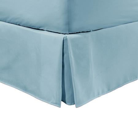 Saia para Cama Box Matt Denim - 200 Fios | WestwingNow