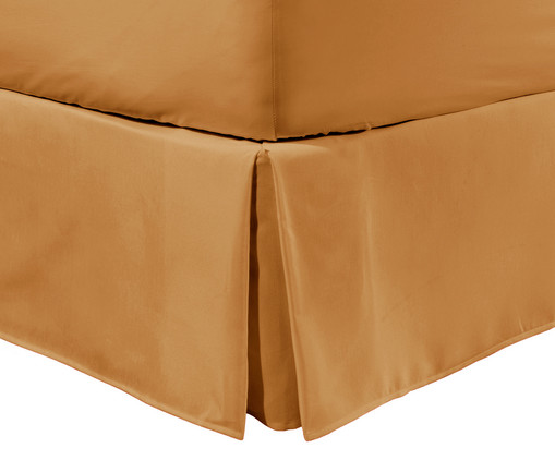 Saia para Cama Box Matt Gengibre - 200 Fios, Gengibre | WestwingNow