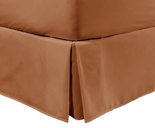 Saia para Cama Box Matt Caramelo - 200 Fios, Caramelo | WestwingNow