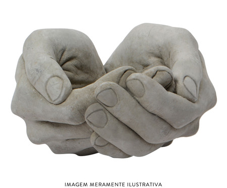 Vaso de Cimento Jaffa - Cinza | WestwingNow