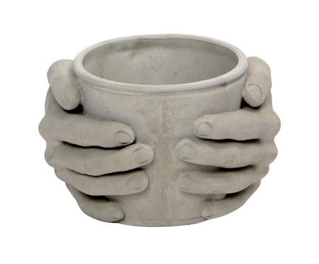 Cachepot de Cimento Joela - Cinza | WestwingNow