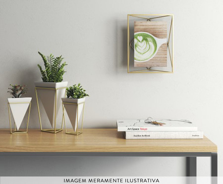 Porta-Retrato Milene - Dourado | WestwingNow