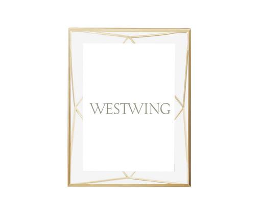 Porta-Retrato Milene - Dourado, Dourado | WestwingNow