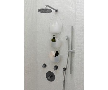 Jogo de Porta-Shampoo Lidia - Branco | WestwingNow