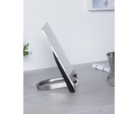 Porta Tablet em Metal Nara - Preto | WestwingNow