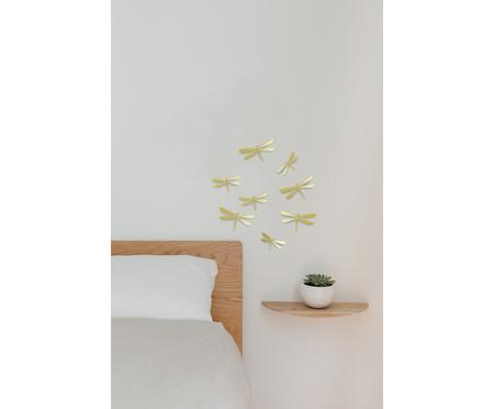 Adorno de Parede Pássaros - Dourado | WestwingNow