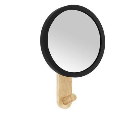 Espelho com Moldura Cauê - Preto | WestwingNow