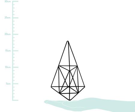 Adorno Pirâmide Valarie Ferro - Preto | WestwingNow