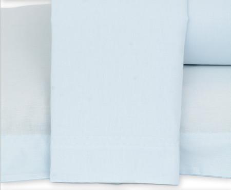 Jogo de Lençol Lise Azul Algodão - 150 Fios | WestwingNow