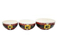 Jogo de Bowls Natalinos Cinto Noel | WestwingNow