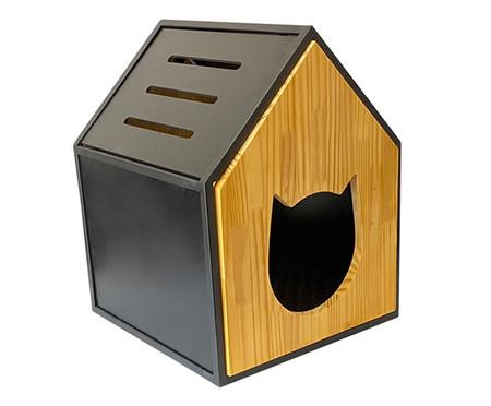 Casa para Pet em Veludo Tom - Natural | WestwingNow