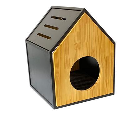 Casa para Pet em Veludo Garfield - Natural | WestwingNow